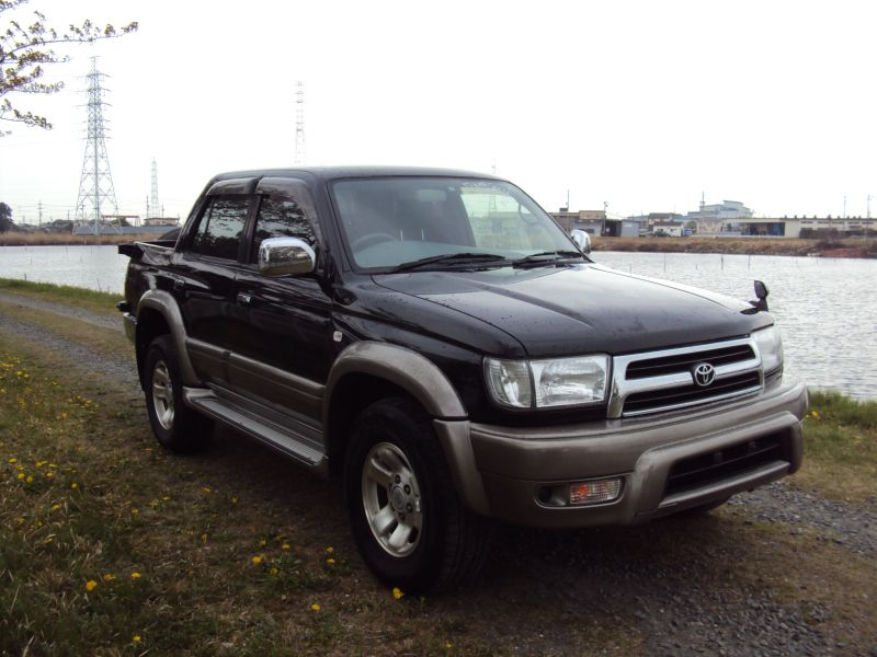 toyota hilux surf ssr x 1999 used for sale. Black Bedroom Furniture Sets. Home Design Ideas