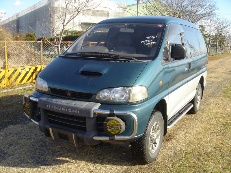 mitsubishi delica space gear 2 8 dt jasper 1996 used for sale. Black Bedroom Furniture Sets. Home Design Ideas