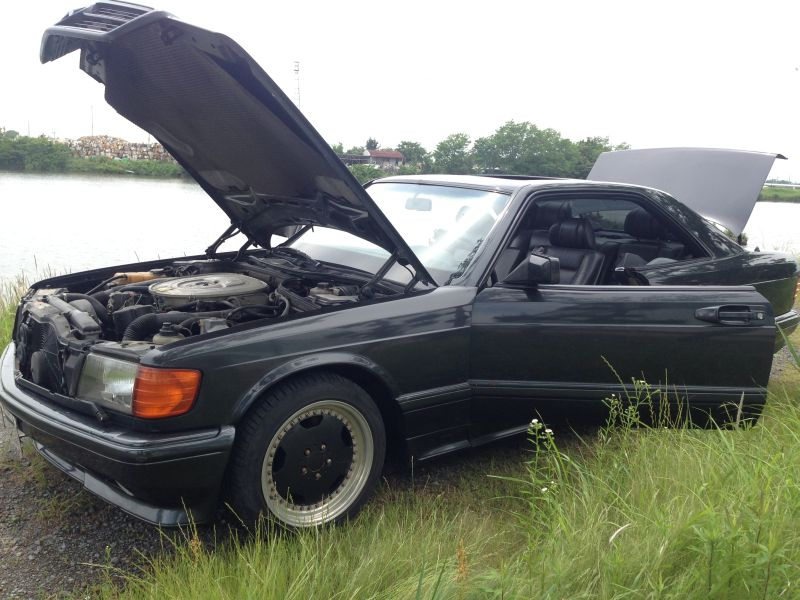Mercedes benz 560sec 1990 used for sale for Mercedes benz history name