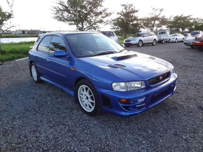 subaru impreza sports wagon wrx sti version 6 ltd 2000 used for sale. Black Bedroom Furniture Sets. Home Design Ideas