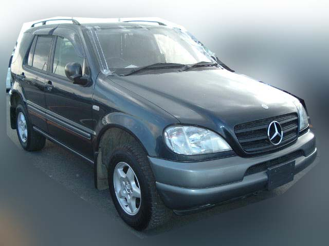 Mercedes benz ml 320 1998 damaged for sale for Ml mercedes benz for sale