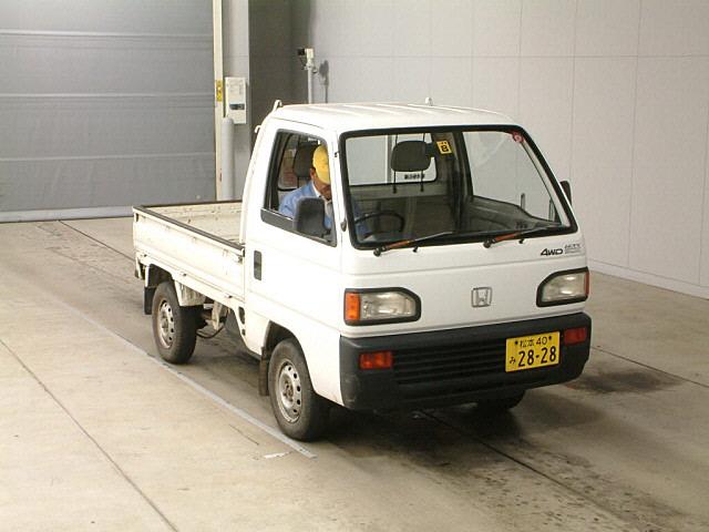 honda acty truck 4wd 1991 used for sale. Black Bedroom Furniture Sets. Home Design Ideas