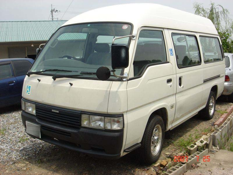 nissan caravan 1998 used for sale