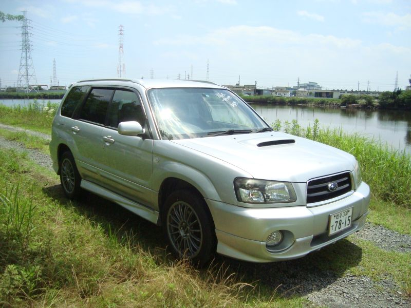 subaru forester xt turbo 4wd 2002 used for sale. Black Bedroom Furniture Sets. Home Design Ideas