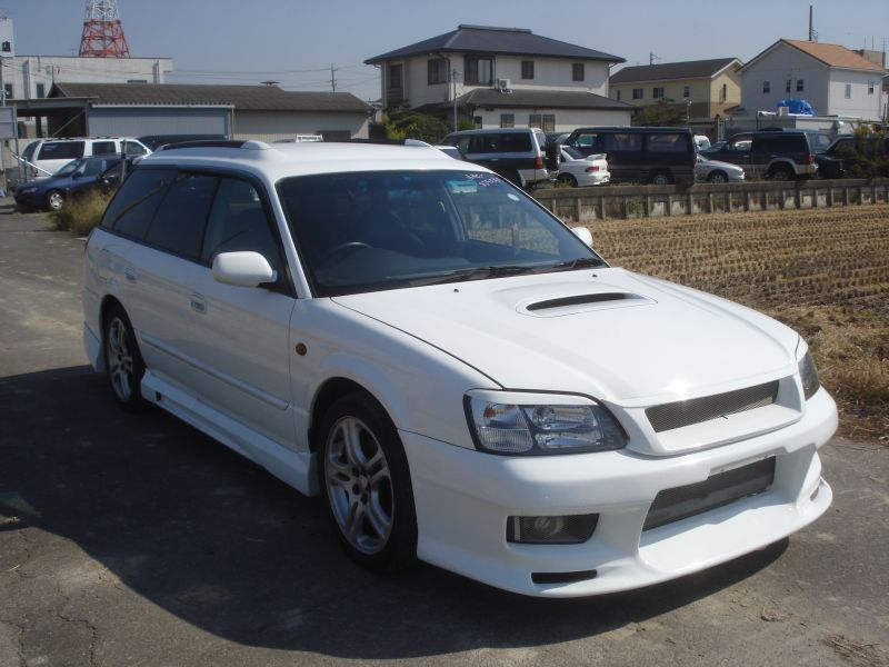 subaru legacy wagon 2 0 gt b 4wd 1999 used for sale. Black Bedroom Furniture Sets. Home Design Ideas