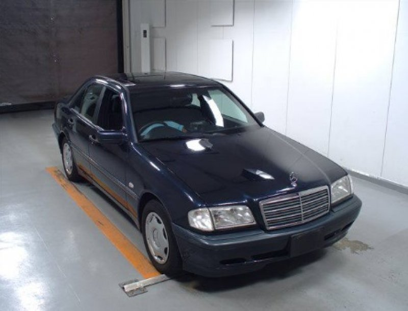 Mercedes benz c200 1998 used for sale for Mercedes benz japan