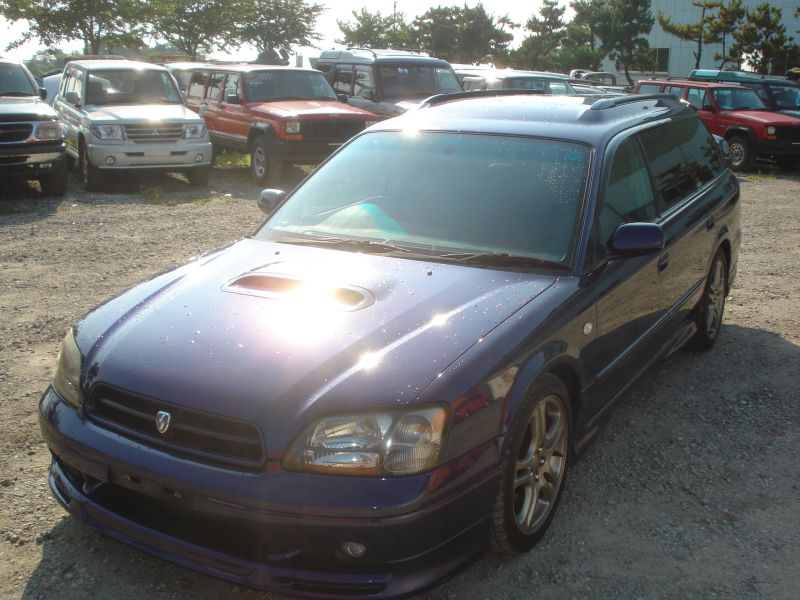 subaru legacy wagon gt b e tune 4wd 1999 used for sale. Black Bedroom Furniture Sets. Home Design Ideas