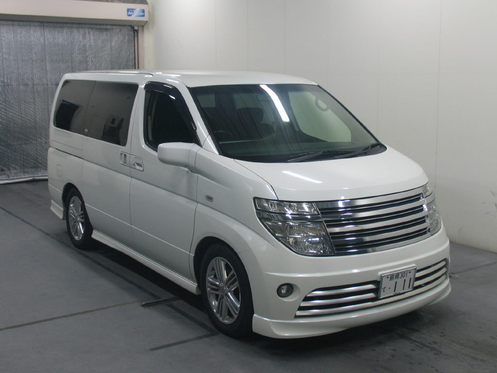 Nissan ELGRAND RIDER S 4WD, 2004, Used For Sale