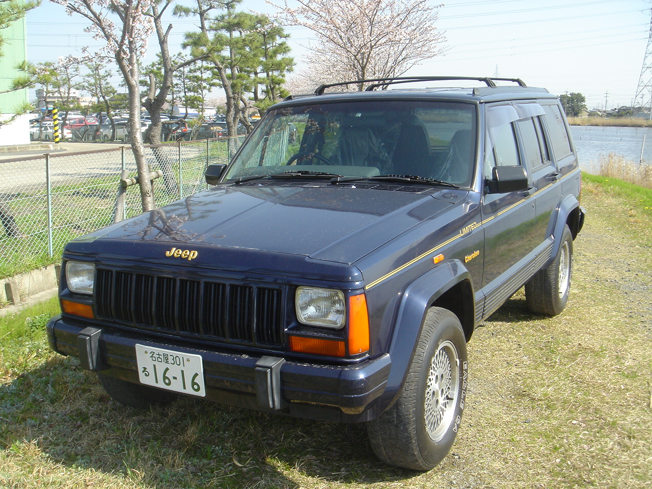 jeep cherokee ltd 1995 used for sale. Black Bedroom Furniture Sets. Home Design Ideas