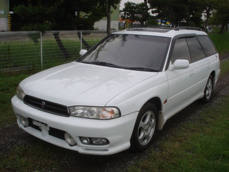 subaru legacy wagon ts r 1997 used for sale. Black Bedroom Furniture Sets. Home Design Ideas