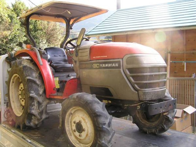 Yanmar Salvage Tractor Parts : Yanmar tractor rs n a used for sale