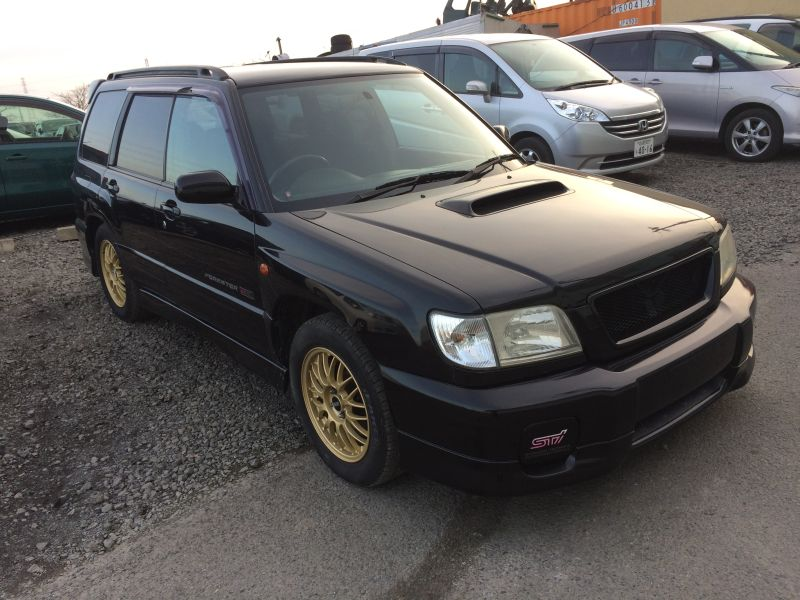 subaru forester s tb sti 4wd 2000 used for sale. Black Bedroom Furniture Sets. Home Design Ideas