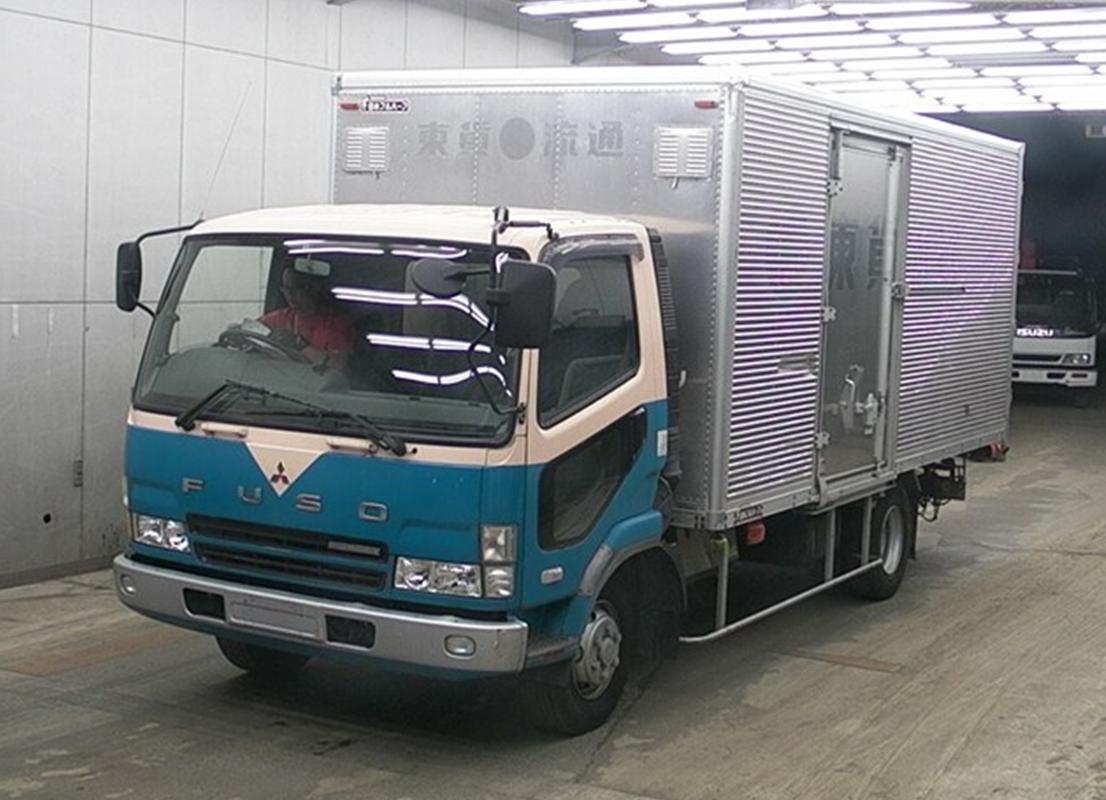 mitsubishi fuso truck 2003 used for sale. Black Bedroom Furniture Sets. Home Design Ideas