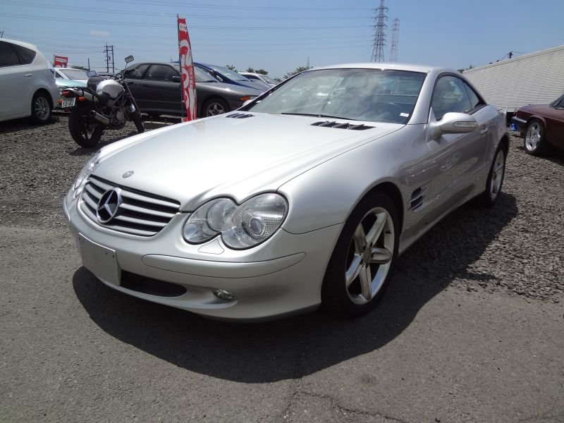 Mercedes benz sl500 2003 used for sale for Mercedes benz japan
