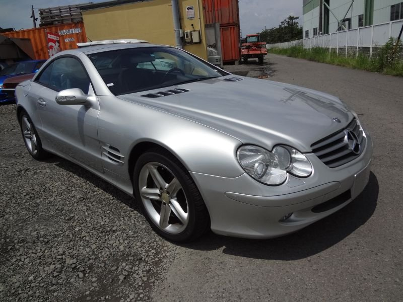 Mercedes benz sl500 2003 used for sale for Mercedes benz 500sl parts