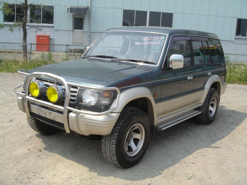 mitsubishi pajero 2 5 turbo diesel 1991 used for sale. Black Bedroom Furniture Sets. Home Design Ideas