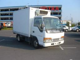 Isuzu Elf Freezer and Frozen Truck