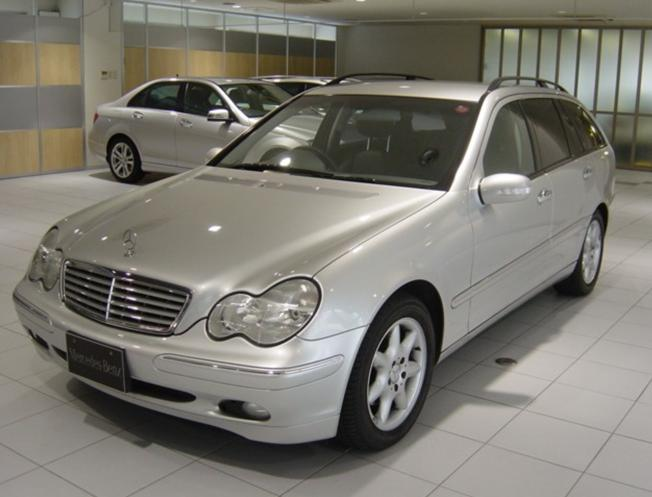 Mercedes benz c class wagon 2001 used for sale for Mercedes benz partners