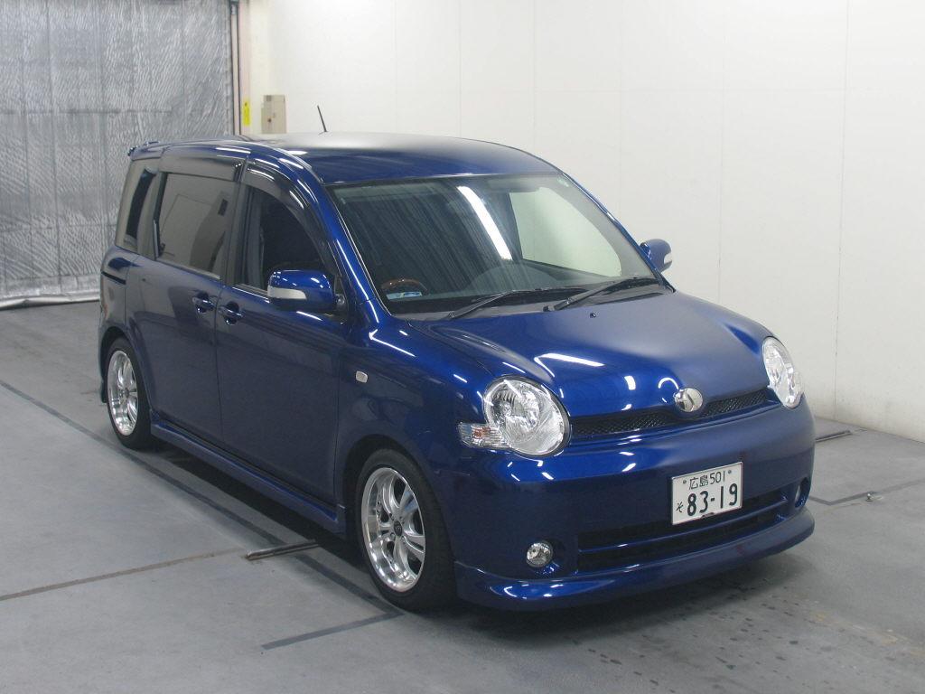 Toyota SIENTA G AERO, 2004, Used For Sale