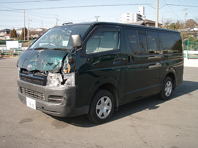 Accident Cars For Sale In Usa >> Toyota HIACE VAN D-T DX Long, 2004, damaged for sale