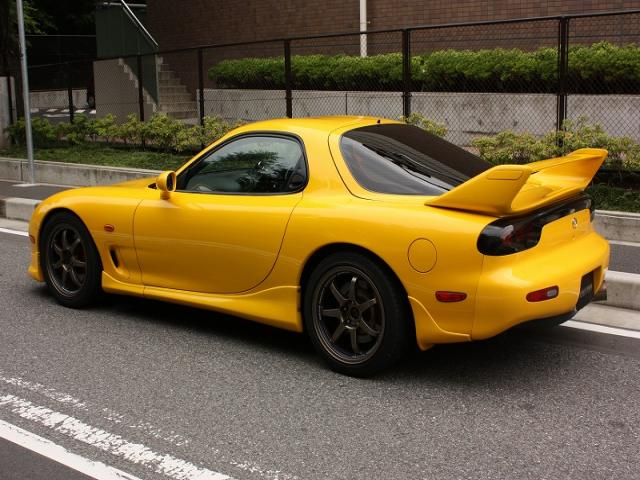 mazda rx 7 rs r 1998 used for sale rs r no damage. Black Bedroom Furniture Sets. Home Design Ideas