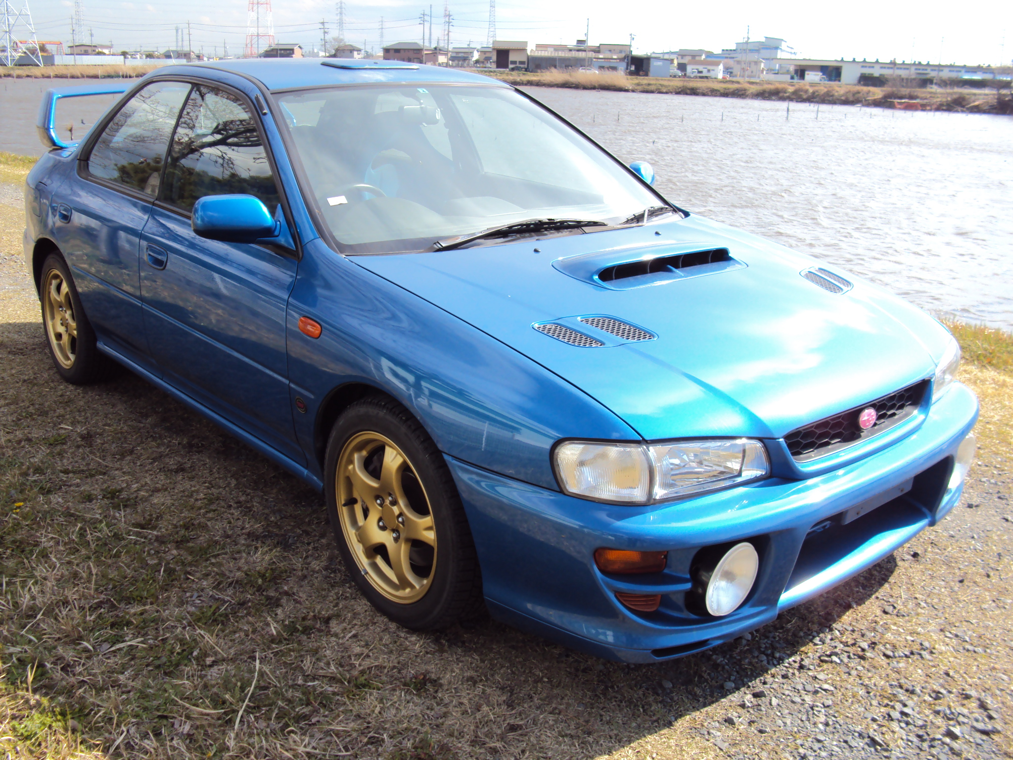 subaru impreza wrx wrx ra 4wd 1999 used for sale. Black Bedroom Furniture Sets. Home Design Ideas