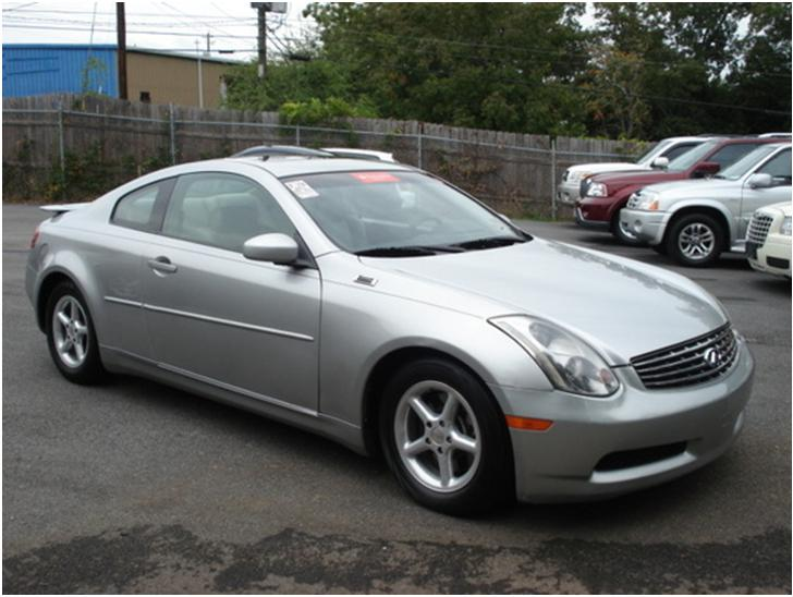 infiniti g35 coupe g35 coupe 2003 used for sale. Black Bedroom Furniture Sets. Home Design Ideas