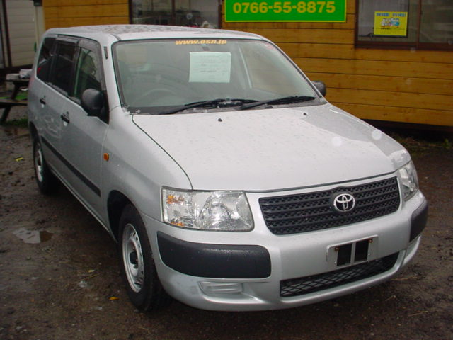 Toyota SUCCEED WAGON UL, 2003, used for sale