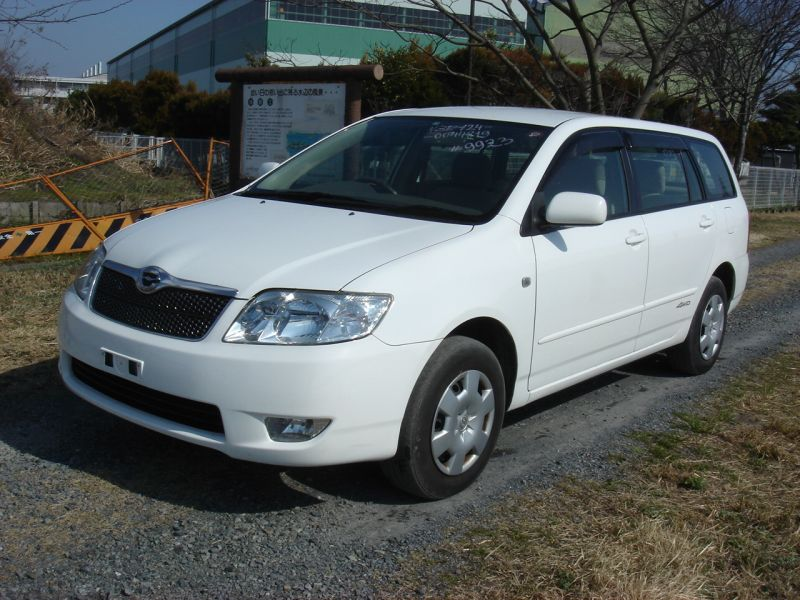 toyota corolla fielder 4wd x 2004 used for sale. Black Bedroom Furniture Sets. Home Design Ideas