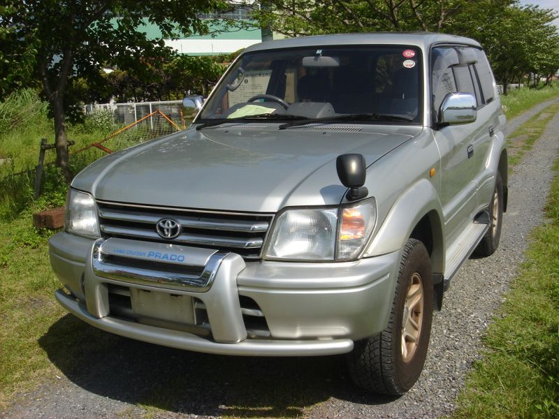 toyota land cruiser prado tz wide 1998 used for sale. Black Bedroom Furniture Sets. Home Design Ideas