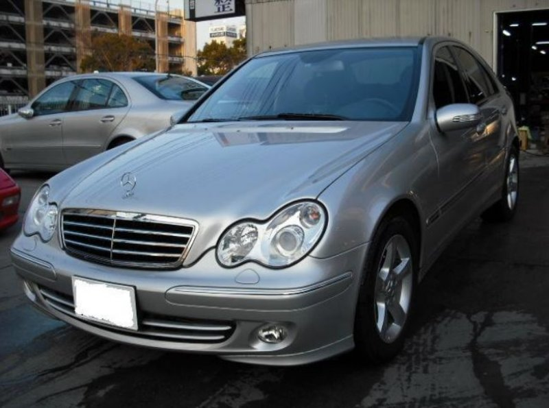 mercedes benz c230 kompressor avantgarde 2005 used for sale. Black Bedroom Furniture Sets. Home Design Ideas
