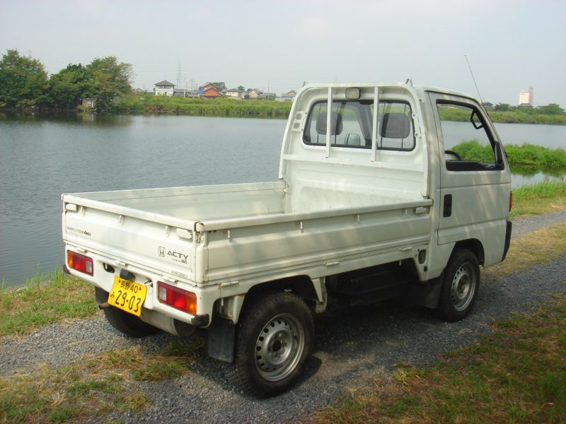 Honda ACTY TRUCK SD-X 4WD, 1990, Used For Sale