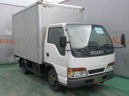 Isuzu ELF box body truck