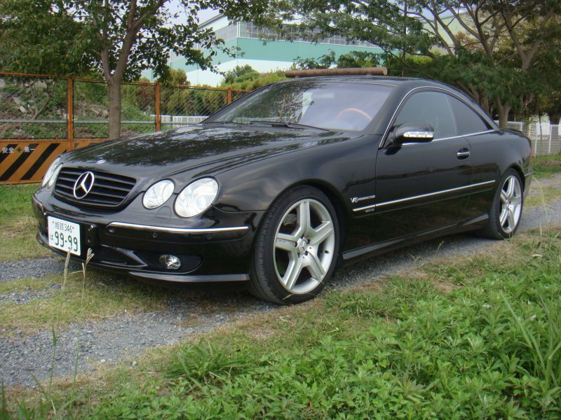 mercedes benz amg cl55 2002 used for sale. Black Bedroom Furniture Sets. Home Design Ideas