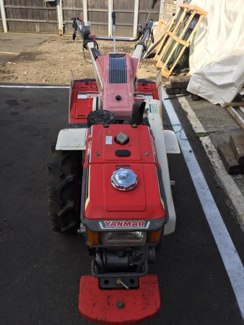 Tractor Rototiller Parts : Yanmar tiller tractor ya n a used for sale