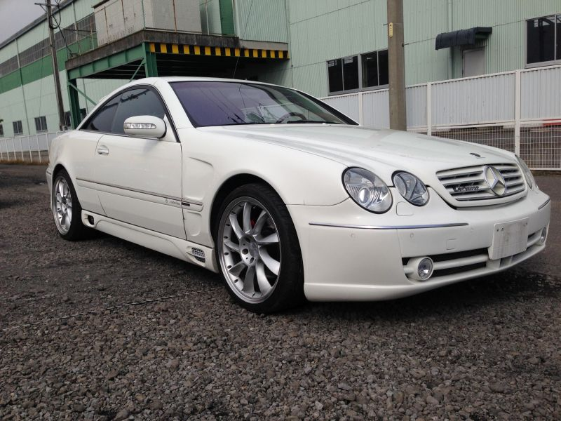 Mercedes benz cl500 2002 used for sale for Mercedes benz partners
