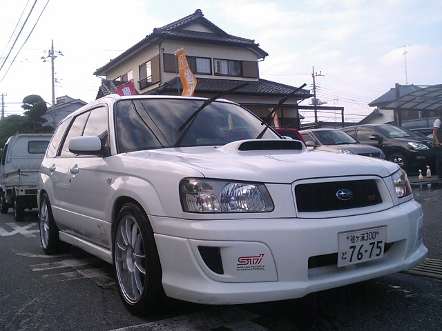 subaru forester sti 2004 used for sale japan. Black Bedroom Furniture Sets. Home Design Ideas