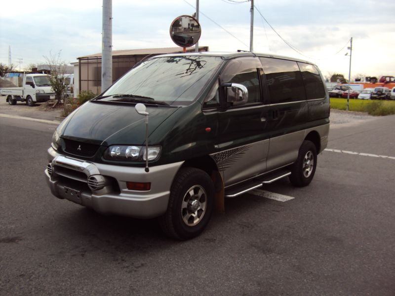 mitsubishi delica space gear 4wd jasper 1998 used for sale. Black Bedroom Furniture Sets. Home Design Ideas