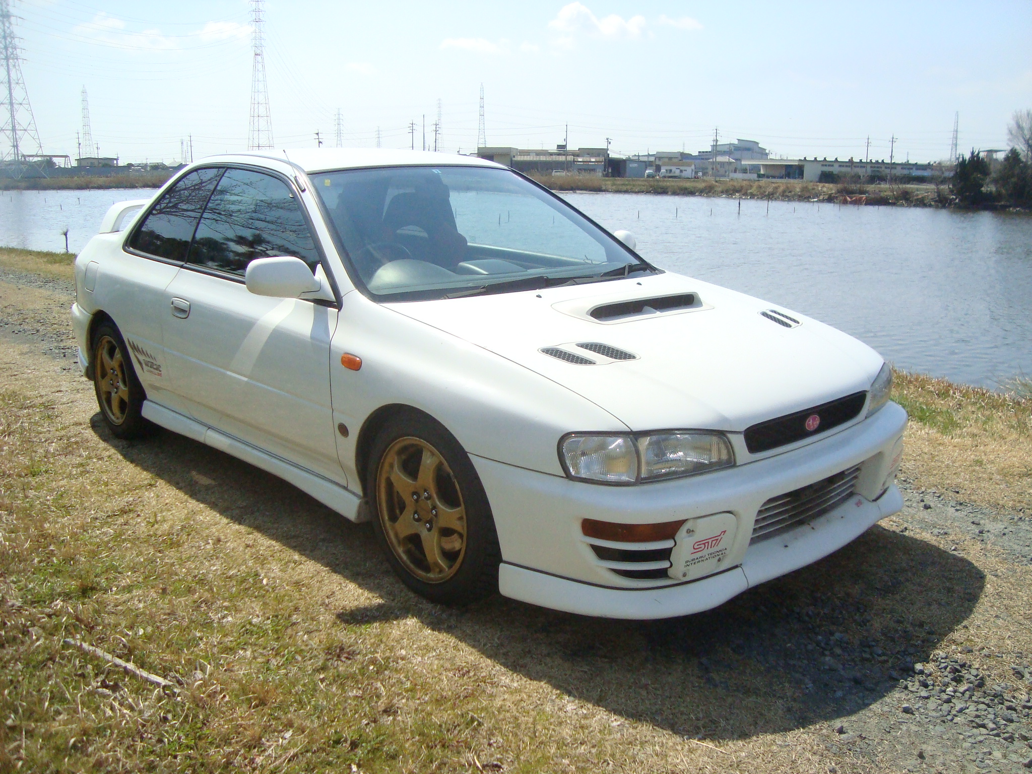 subaru impreza wrx type r sti 4 1998 used for sale. Black Bedroom Furniture Sets. Home Design Ideas