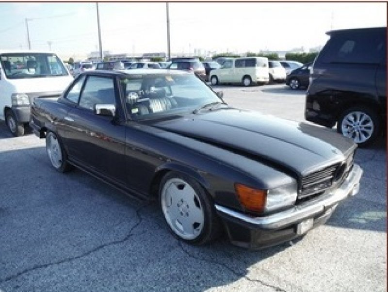 Mercedes benz sl500 1982 used for sale for Mercedes benz usa price list