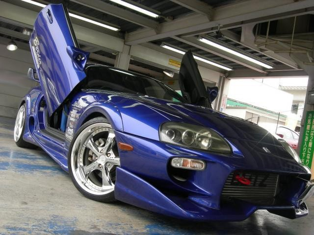 toyota supra q y r 1996 used for sale gull wing supra. Black Bedroom Furniture Sets. Home Design Ideas