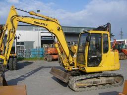 Komatsu Mini Excavator PC 75