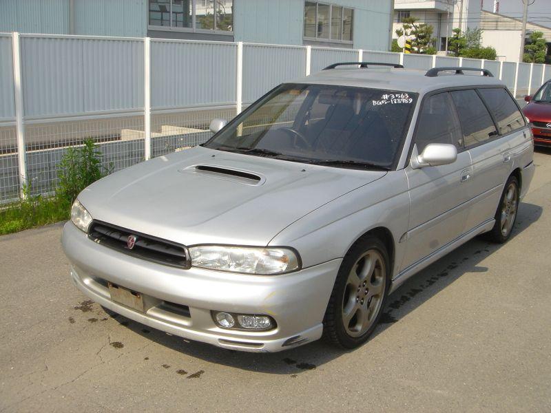 subaru legacy wagon 2 0 gt 4wd 1996 used for sale. Black Bedroom Furniture Sets. Home Design Ideas