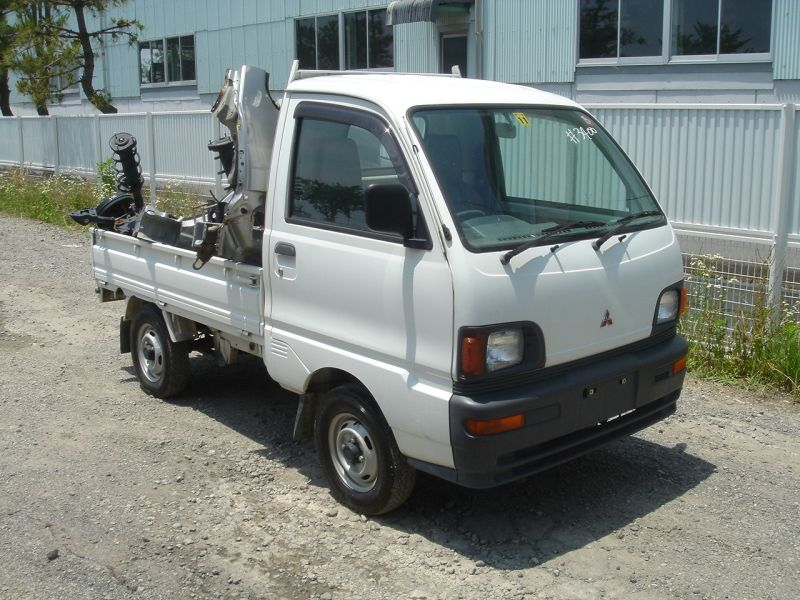 mitsubishi minicab truck truck 1997 used for sale. Black Bedroom Furniture Sets. Home Design Ideas