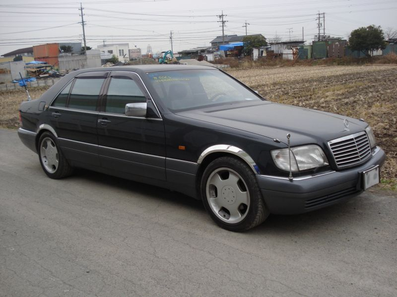 Mercedes benz s600l 1995 used for sale for Mercedes benz s600l