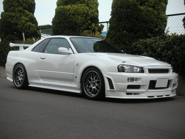 nissan skyline r34 gt r 1999 used for sale. Black Bedroom Furniture Sets. Home Design Ideas