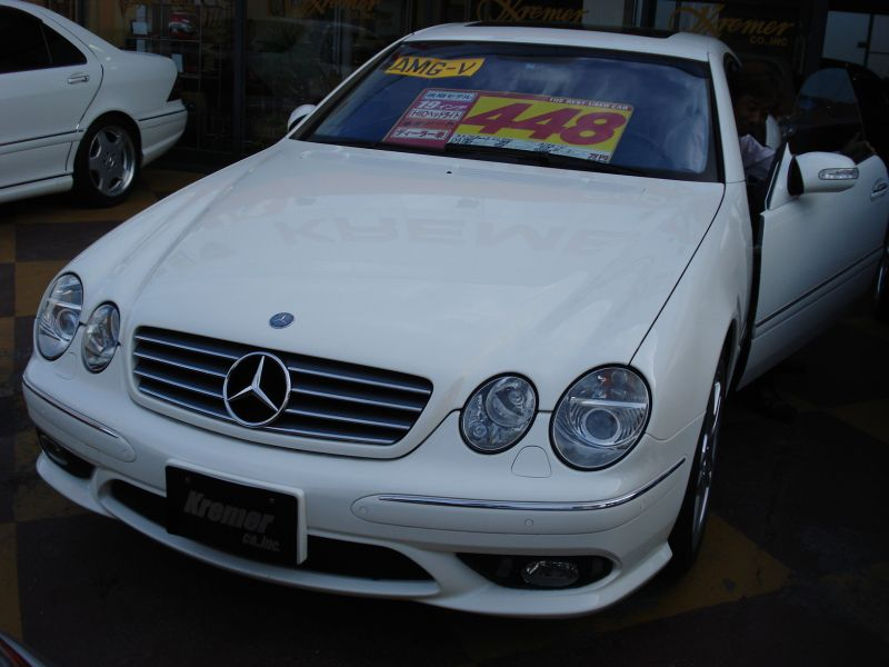 Mercedes benz cl500 amg look 2004 used for sale for Looking for mercedes benz parts