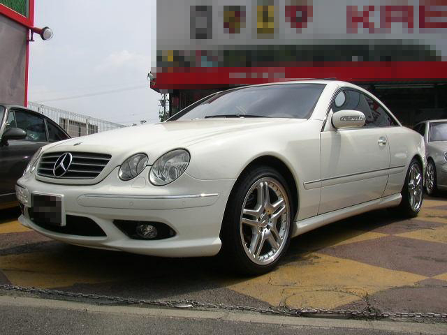 Mercedes benz cl500 amg look 2004 used for sale for Looking for mercedes benz for sale