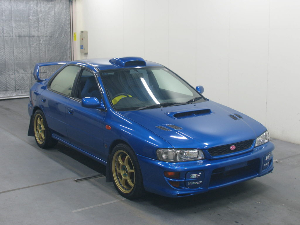 subaru impreza wrx sti 5ltd ra 1999 used for sale light. Black Bedroom Furniture Sets. Home Design Ideas