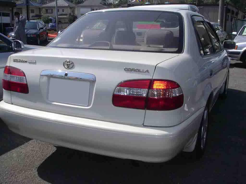 Toyota Supra For Sale In Canada >> Toyota Corolla SE-saloon, 2000, used for sale (Toyota)